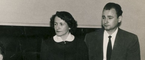 Dalia Sruogaitė-Bylaitienė ir A.Mackus