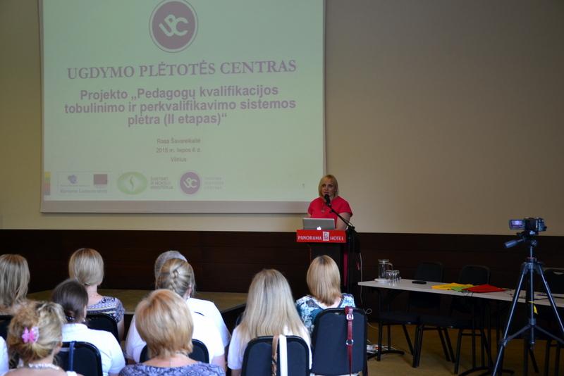 02-Kalba UPC Ugdymo turinio įgyvendinimo ir organizavimo skyriaus vedėja, projekto vadovė, stovyklos organizatorė Rasa  Šavareikaitė